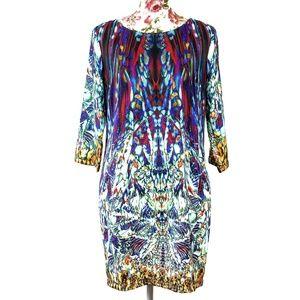 3/$35 Rhyme & Echo Kaleidoscope Print Dress